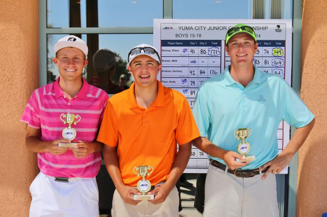 (left to right): Jonathan Walters (1st), Zach Burkholder (2nd), John-Henry Rudd (3rd)